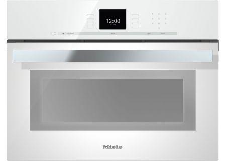 Miele - DGC6600XLBW - Single Wall Ovens