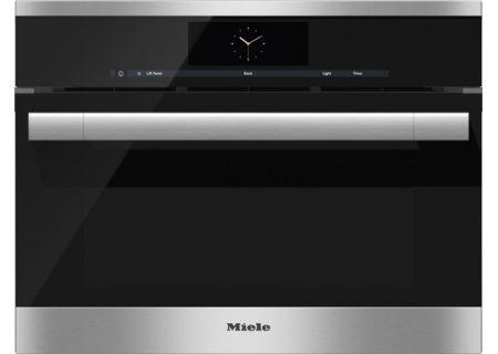 Miele - DGC6700XLSS - Single Wall Ovens