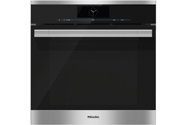 """Large image of Miele 24"""" Built-In Stainless Steel Combination Steam Oven - 10265740"""