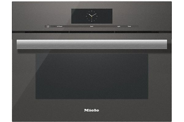 """Large image of Miele 24"""" Graphite Gray Combination Steam Oven XL - 10753960"""