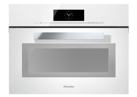 Miele - DGC6800XLWH - Single Wall Ovens