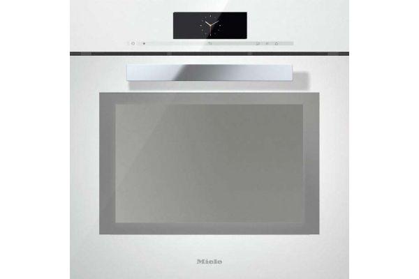 "Large image of Miele 24"" Brilliant White Combination Steam Oven XXL - 10221050"