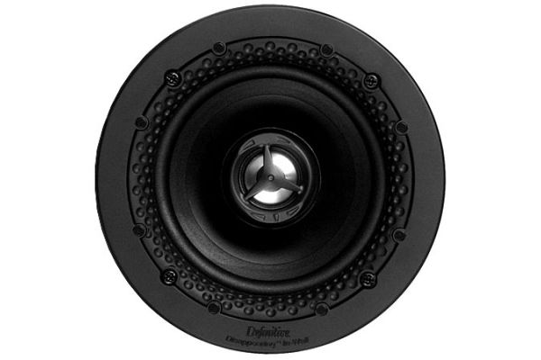 """Large image of Definitive Technology White Disappearing 4.5"""" In Ceiling Loudspeaker - DI 4.5R"""