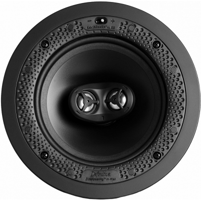 """Definitive Technology Disappearing White 6.5"""" In-Wall/In-Ceiling Speaker (Each)"""
