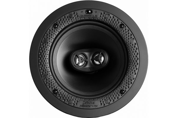 """Large image of Definitive Technology Disappearing White 6.5"""" In-Wall/In-Ceiling Speaker (Each) - DI65STR"""