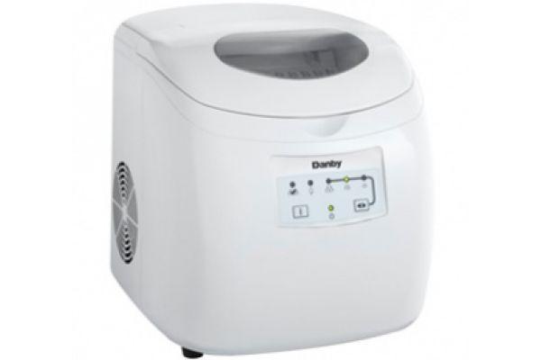 Danby White Countertop Ice Maker - DIM2500WDB
