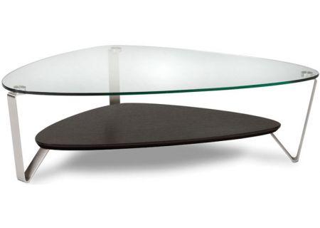 BDI Dino Large Espresso Stained Oak Triangular Coffee Table - DINO1343ES