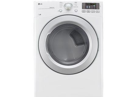 LG White Gas Dryer - DLG3171W