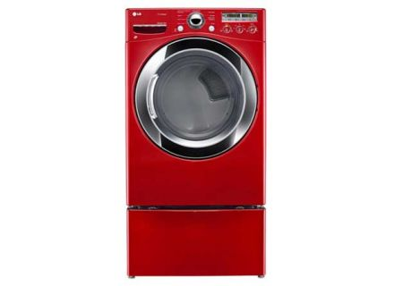LG - DLEX3250R - Electric Dryers