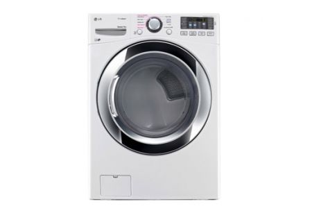 LG 7.4 Cu. Ft. White Ultra Large Capacity Electric Dryer  - DLEX3370W