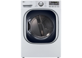 LG - DLEX4070W - Electric Dryers