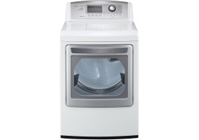 LG - DLEX5170W - Electric Dryers