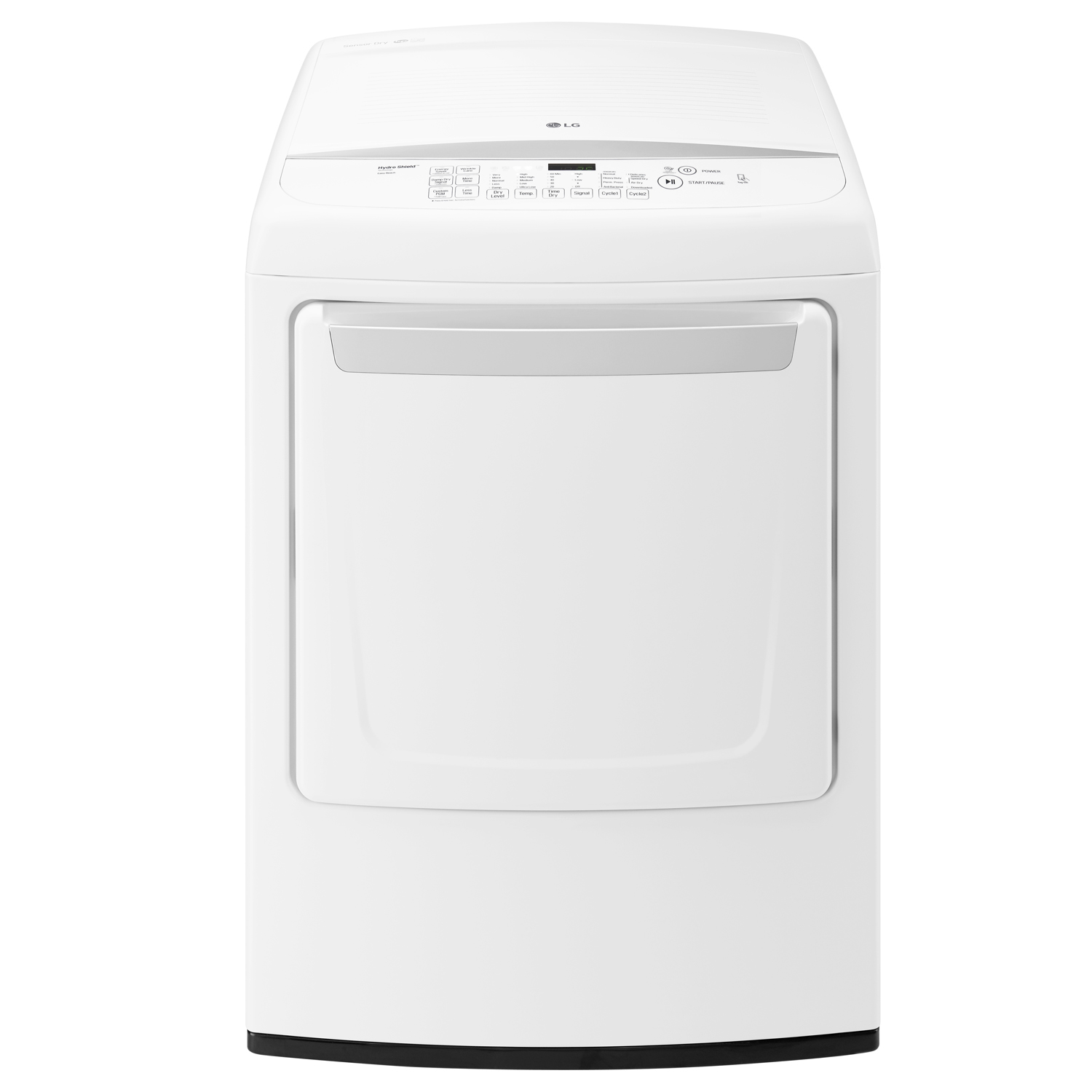 Lg White Electric Dryer Dle1501w