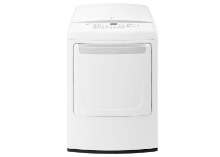 LG White Gas Dryer - DLG1502W