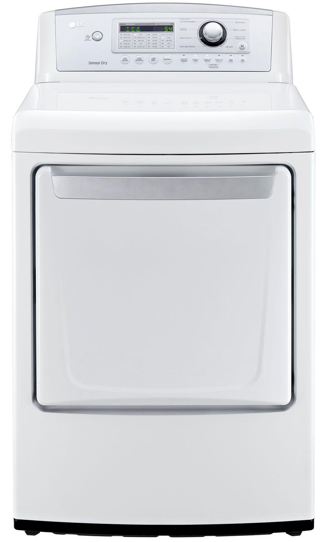 Lg White Gas Dryer Dlg4971w Abt