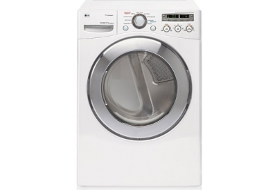 LG - DLEX2501W - Electric Dryers
