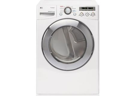 LG - DLEX2501W - Electric Dryers