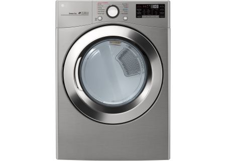 LG Graphite Steel Electric Steam Dryer - DLEX3700V