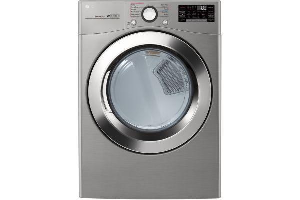 Large image of LG Graphite Steel Electric Steam Dryer - DLEX3700V