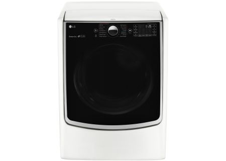 LG White TurboSteam Gas Dryer - DLGX5001W