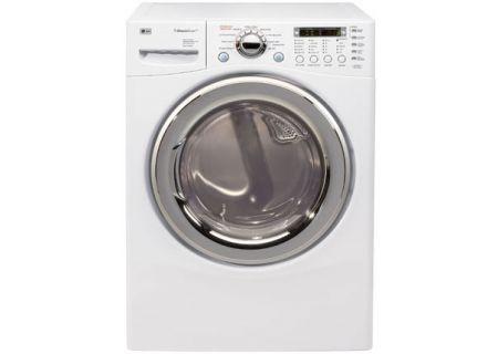 LG - DLEX7177WM - Electric Dryers
