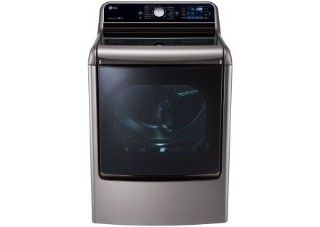 LG Graphite Steel Electric Steam Dryer - DLEX7700VE