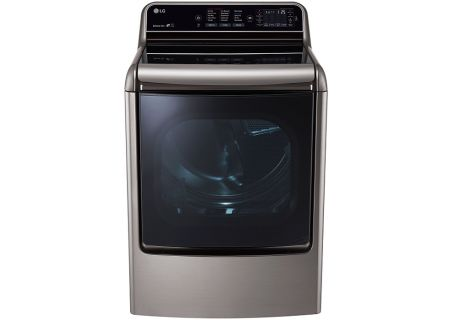 LG Graphite Steel Mega Capacity TurboSteam Dryer - DLGX7711VE