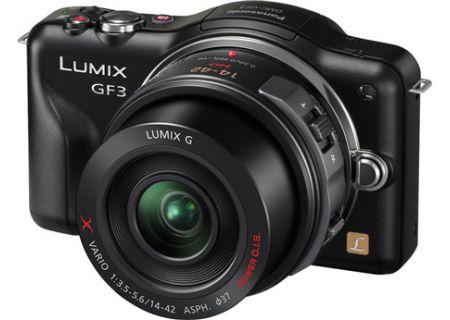 Panasonic - DMC-GF3XK - Digital Cameras