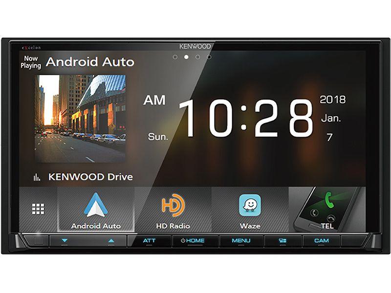 Kenwood eXcelon Digital Media Receiver With Bluetooth