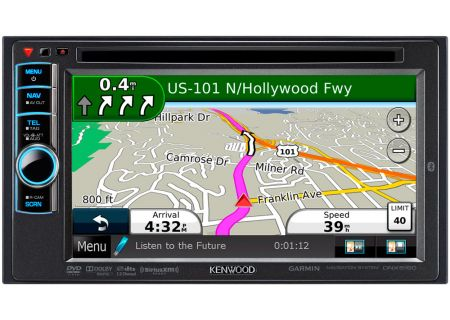 Kenwood - DNX5190 - Portable GPS Navigation