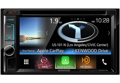 Kenwood - DNX-573S - In-Dash GPS Navigation Receivers