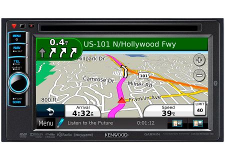 Kenwood - DNX6190HD - Portable GPS Navigation