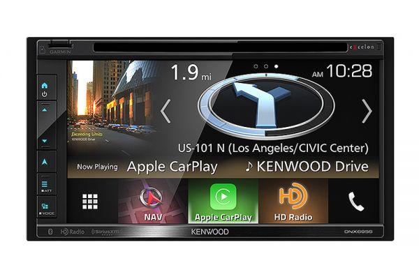 "Kenwood 6.8"" AV Navigation System With Bluetooth & HD Radio - DNX-695S"