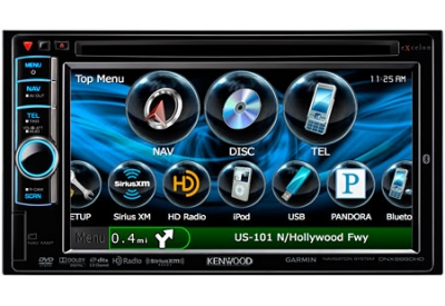 Kenwood - DNX6990HD - Portable GPS Navigation