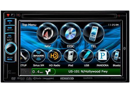 Kenwood - DNX6990HD - Portable GPS Navigation
