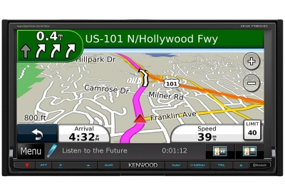Kenwood - DNX7190HD - Portable GPS Navigation