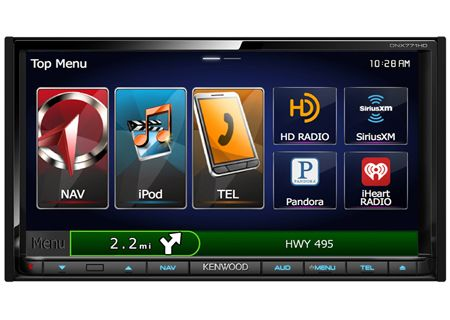 Kenwood - DNX771HD - Car Stereos - Double DIN