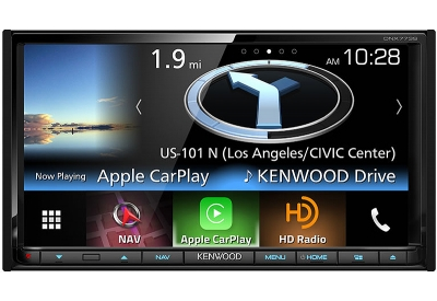 Kenwood - DNX-773S - In-Dash GPS Navigation Receivers