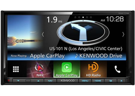 Kenwood - DNX-773S - In-Dash GPS Navigation Receivers