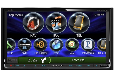 Kenwood - DNX890HD - Car Stereos - Double Din