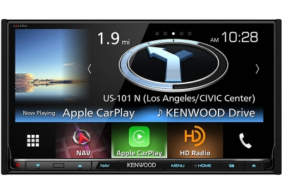 Kenwood - DNX-893S - In-Dash GPS Navigation Receivers
