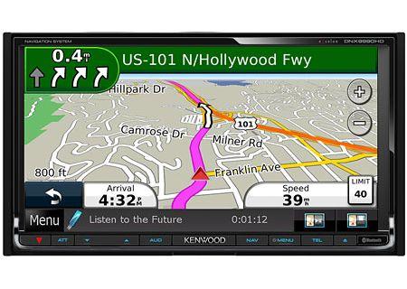 Kenwood - DNX9990HD - Portable GPS Navigation