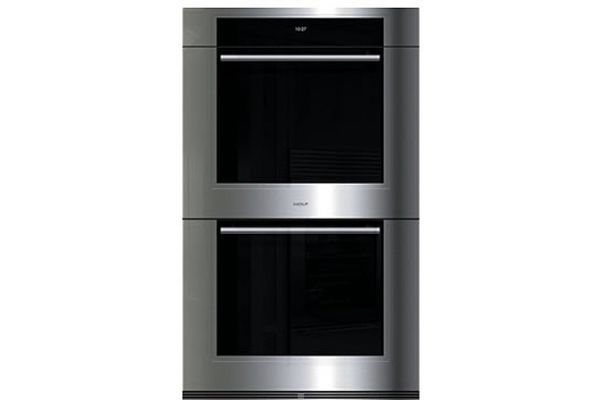 """Large image of Wolf 30"""" M Series Transitional Built In Stainless Steel Double Oven - DO30TM/S/TH"""