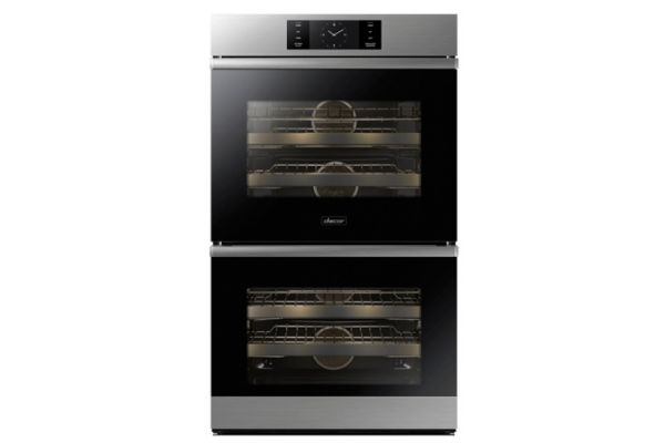 "Dacor Modernist 30"" Stainless Steel Steam-Assisted Double Wall Oven - DOB30M977DS"