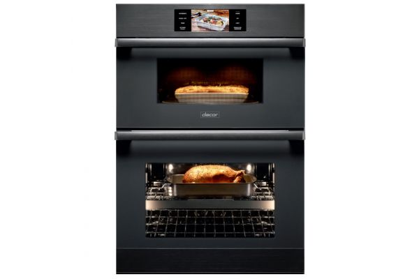"""Dacor Modernist 30"""" Graphite Stainless Steel Combination Wall Oven  - DOC30M977DM"""