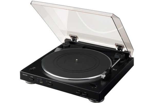 Denon Fully Automatic Turntable - DP-200USB