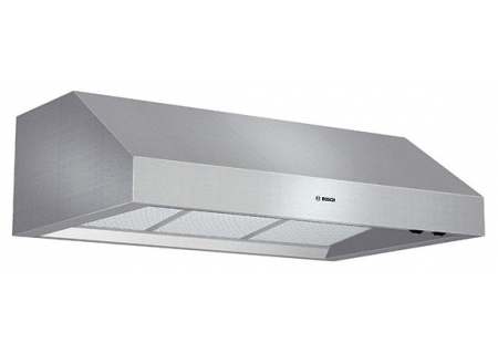 "Bosch 36"" 800 Series Stainless Steel Under-Cabinet Wall Hood - DPH36652"