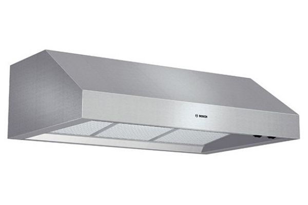 """Large image of Bosch 36"""" 800 Series Stainless Steel Under-Cabinet Wall Hood - DPH36652UC"""