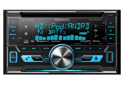Kenwood - DPX-792BH - Car Stereos - Double DIN