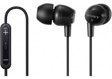 Sony - DR-EX12IP/BLK - Headphones